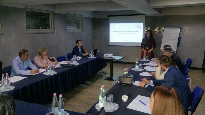 Programimi i Zhvillimit Rajonal – Seminare me AZhR-të