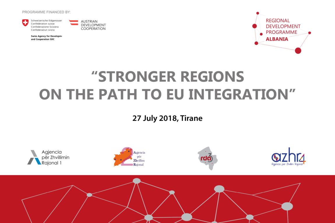 """STRONGER REGIONS ON THE PATH TO EU INTEGRATION"""