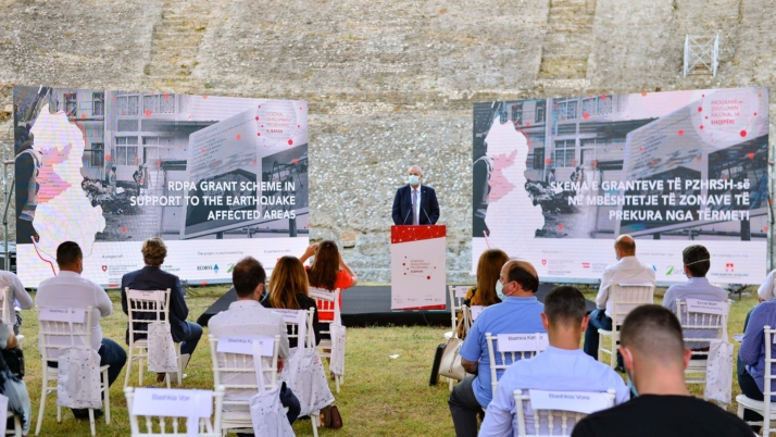 Launching of the RDPA grant scheme in support to earthquake affected areas in Albania